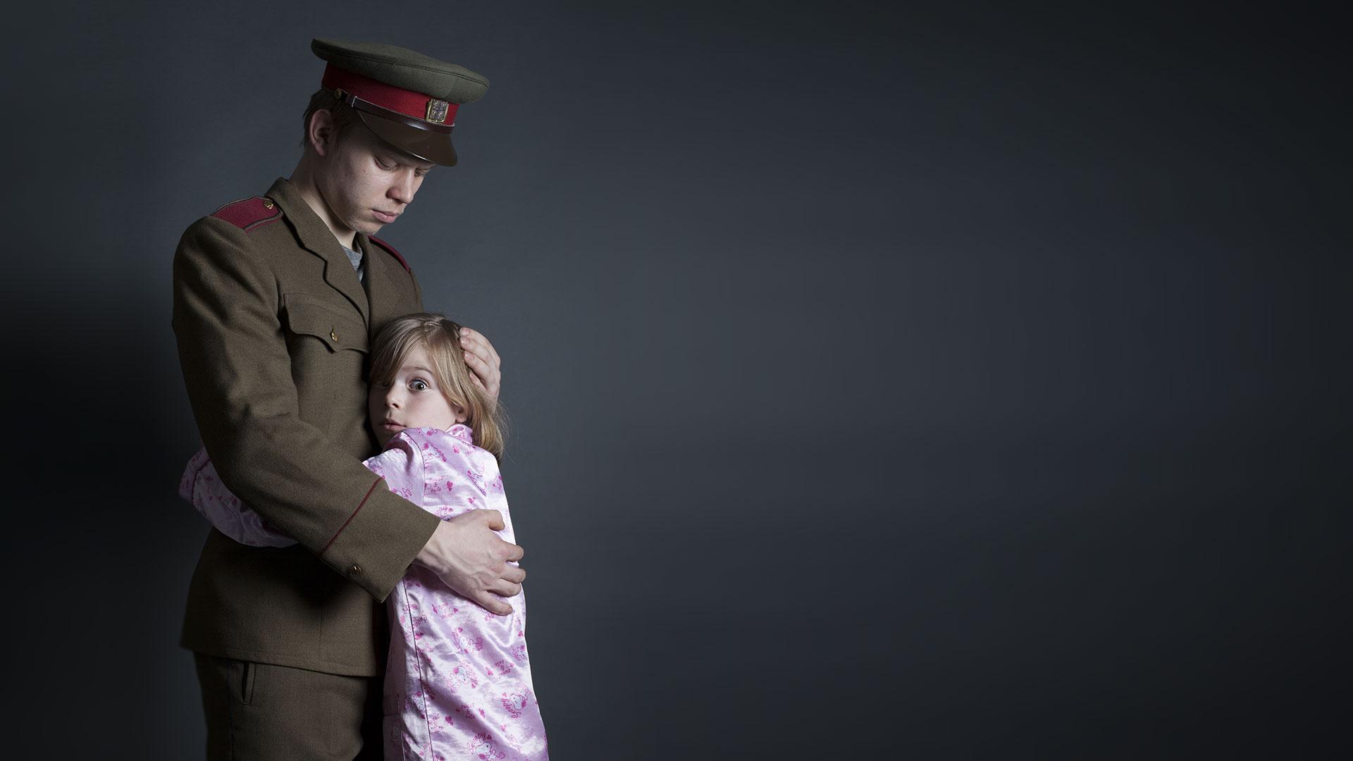 rande s mužem v armádě uk
